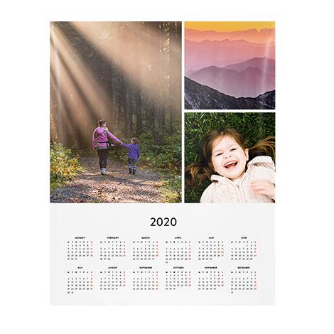 """28x35cm (11x14"""") Calendar Poster"""