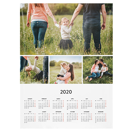 """30x40cm (12x16"""") Calendar Poster"""