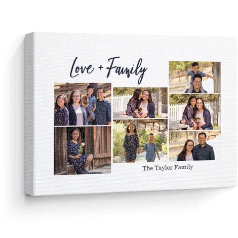 Canvas print. Love theme