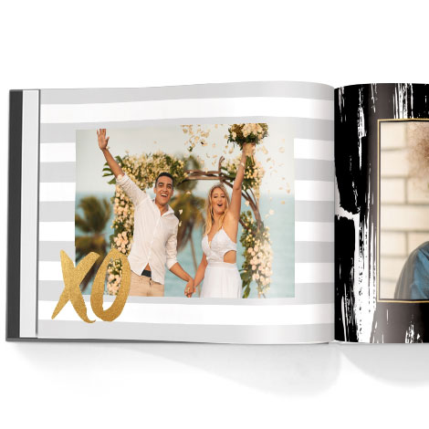 Photo book. Love struck theme