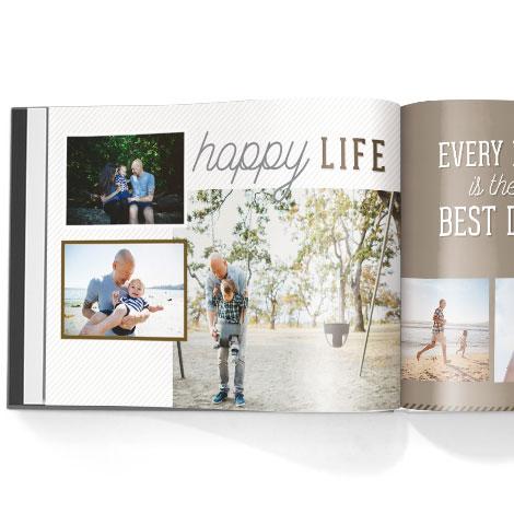 Photo book. Precious experiences theme