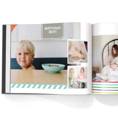 Photo book. Classic album theme