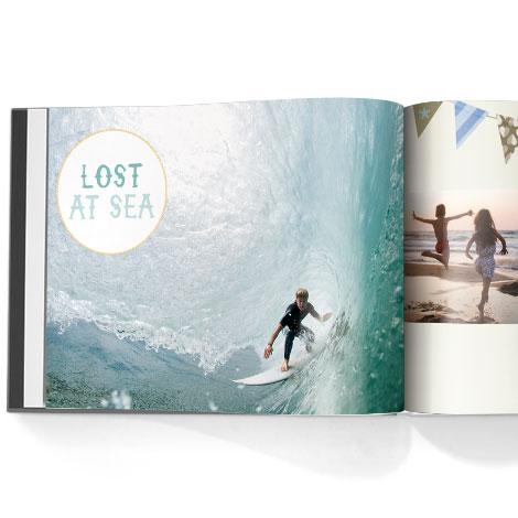Photo book. Life at the beach theme