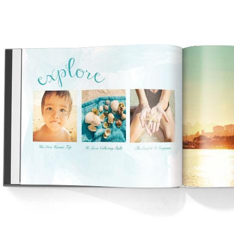 Photo book. Aloha theme