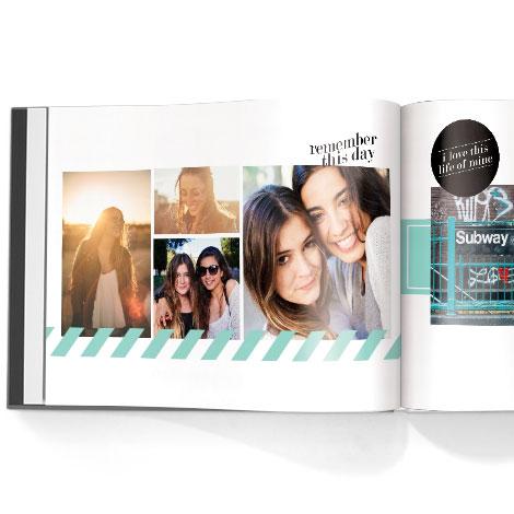 Photo book. Snapshot theme