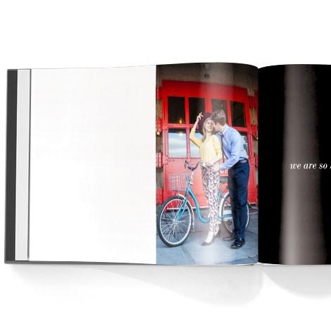Photo book. Guest book theme