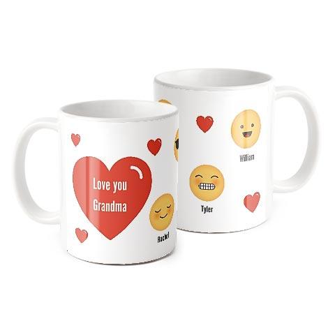 Emoji Family Love