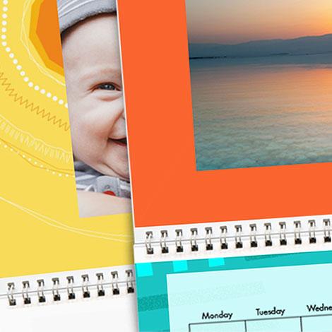 "Colour & Patterns - 8x11"" Calendars"