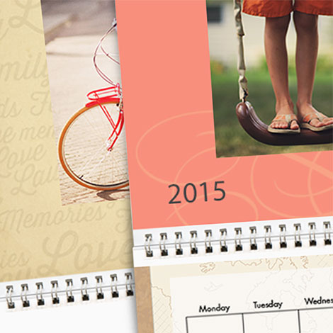 "Everyday - 8x11"" Calendars"