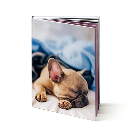 "8x11"" Portrait Hard Custom Cover Photo Book"