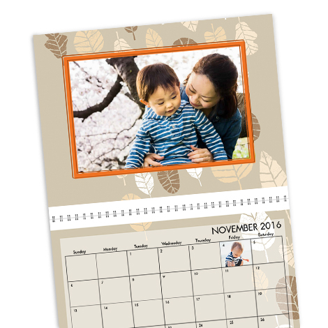 Wall Calendar, 8x11