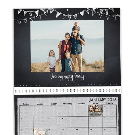 Premium Wall Calendar, 11x14