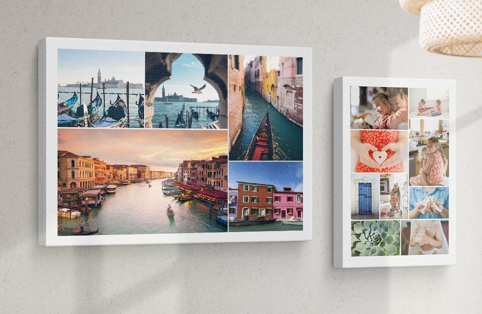 Premium Collage Canvas