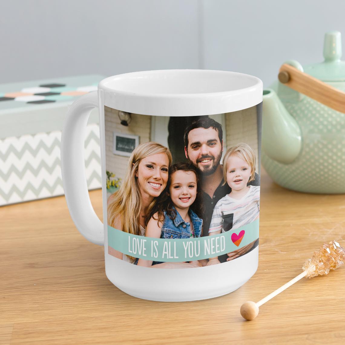 Personalized mugs cheap uk - Large Coffee Mug 15oz
