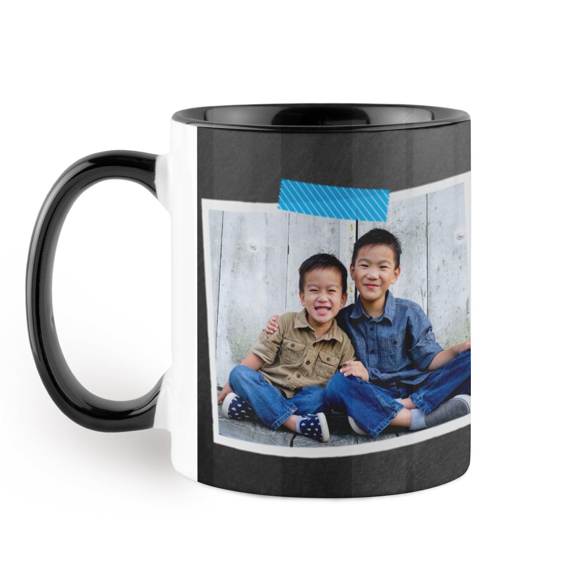 black colorful mug - Colorful Mugs
