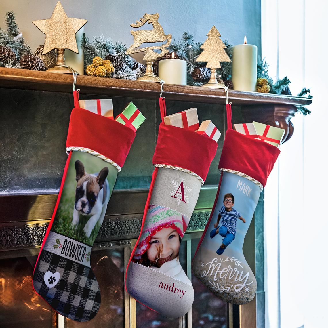 Christmas Stocking Christmas Ornaments And Decor Gifts Snapfish Us