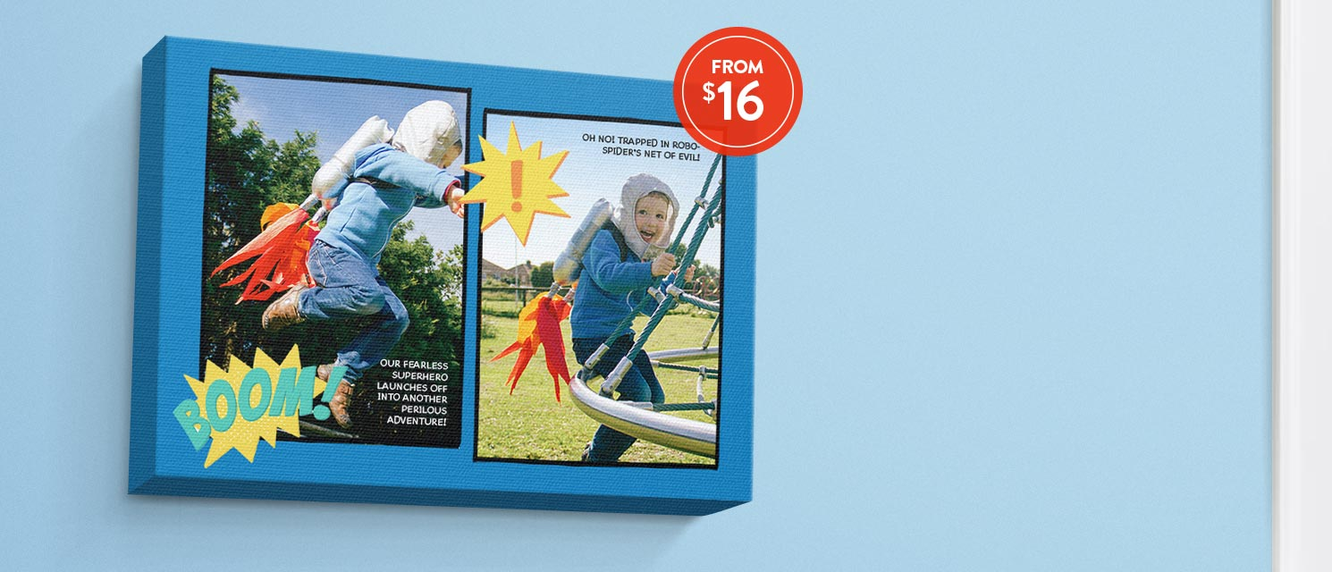 Is it a plane?... : Save 65% on classic canvas prints with code SUPER65