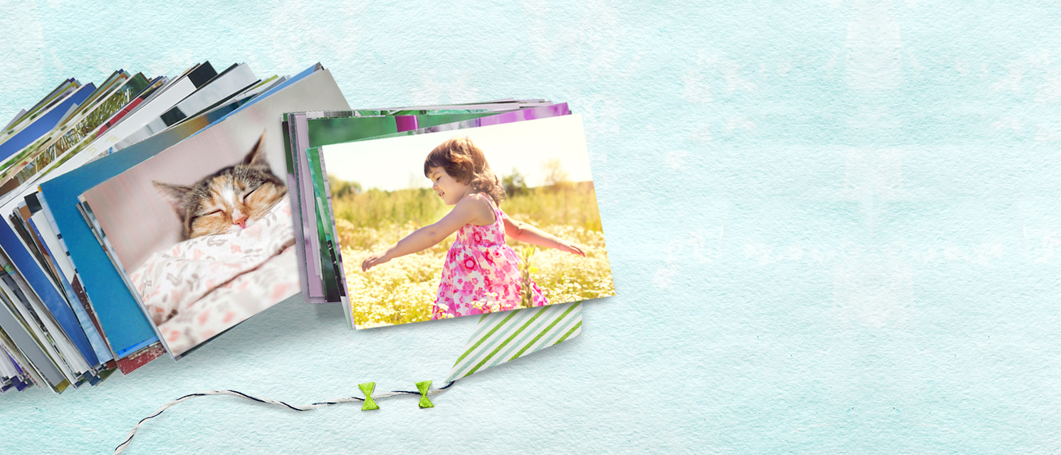 Photo prints : Print and share your favourite photos.