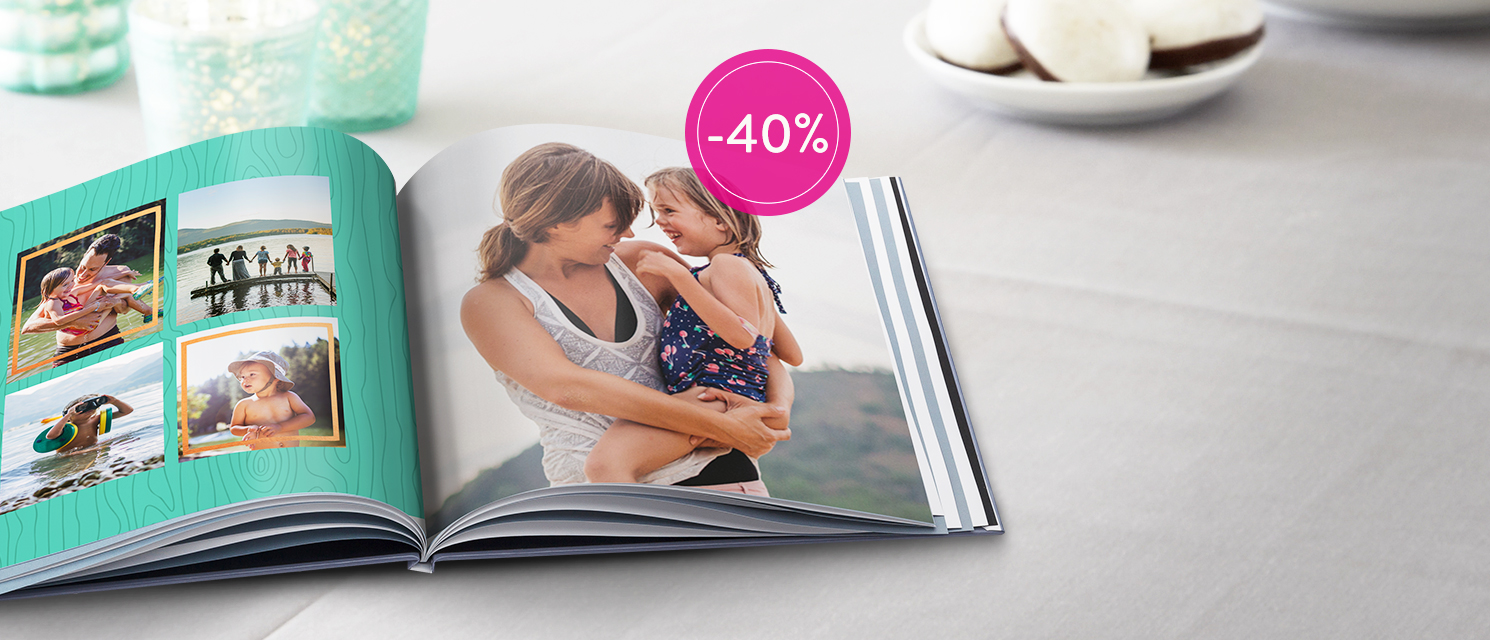 Racconta con le tue foto : Sconto 40% su tutti i FotoLibri Codice: BOOK816