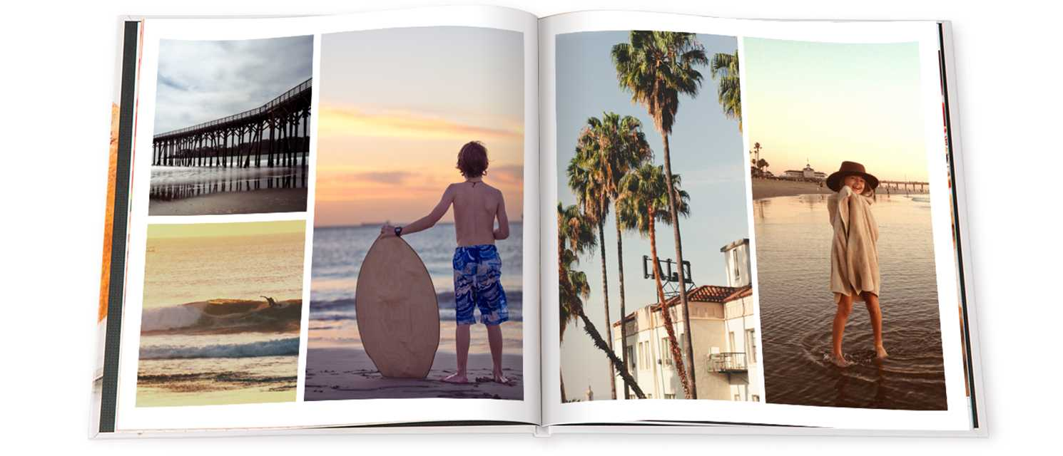 "Image of 11"" x 8"" (28x20cm) Personalised Hardcover Photo Book Matt Lamination 