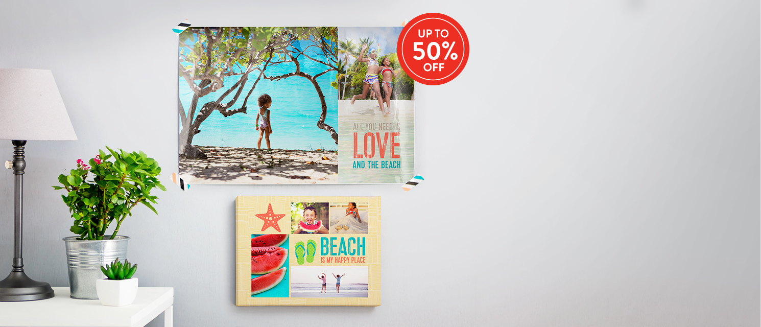 Up to 50% off Wall Art : Use code WALL816 by 30th August 2016