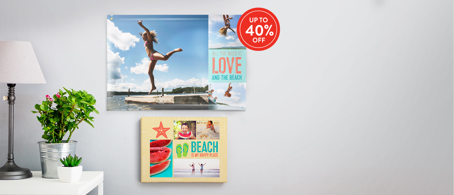 Up to 40% off Wall Art : Use code WALL816 by 30th August 2016