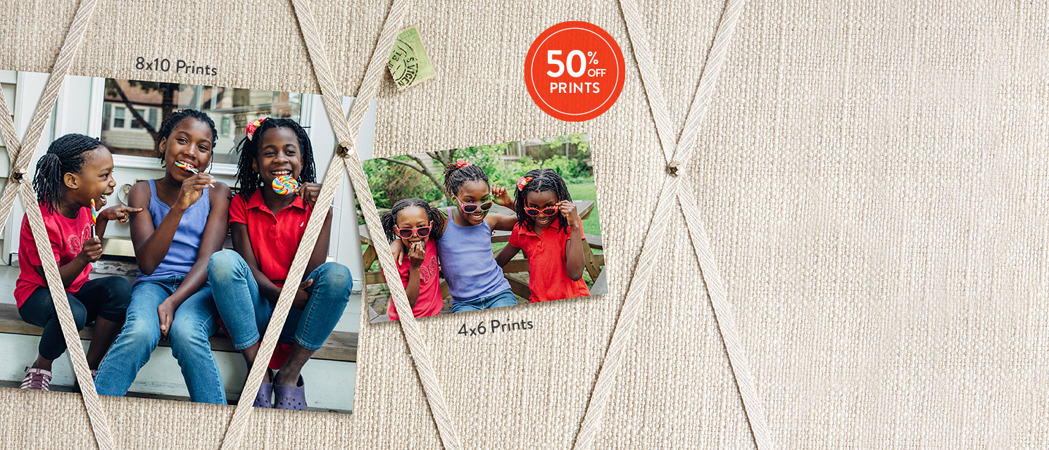 Sweet takes on sisterhood : Celebrate your family and save on prints of all sizes. Use 50PRT16