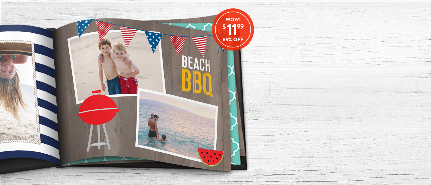 Made to last : Summer days last a lifetime in an 8x11 Hardcover Book. Use 1199BKS for 65% off!
