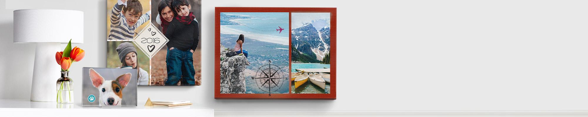 Leinwände und Wanddekoration : Verschönern Sie Ihr zuhause mit Dingen, die Ihnen wichtig sind.