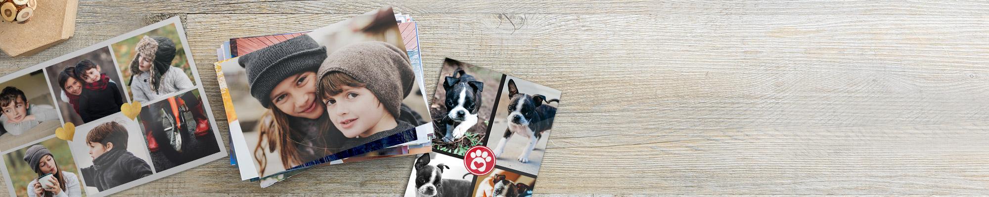 Foto-Abzüge : Jetzt online Fotos bestellen zum Anfassen, Verschenken und zu Hause aufhängen!