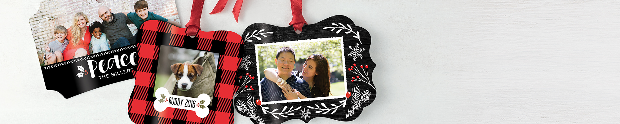 Photo Gifts : From photo mugs to pillows, ornaments, and more, we have all your merrymaking must-haves.