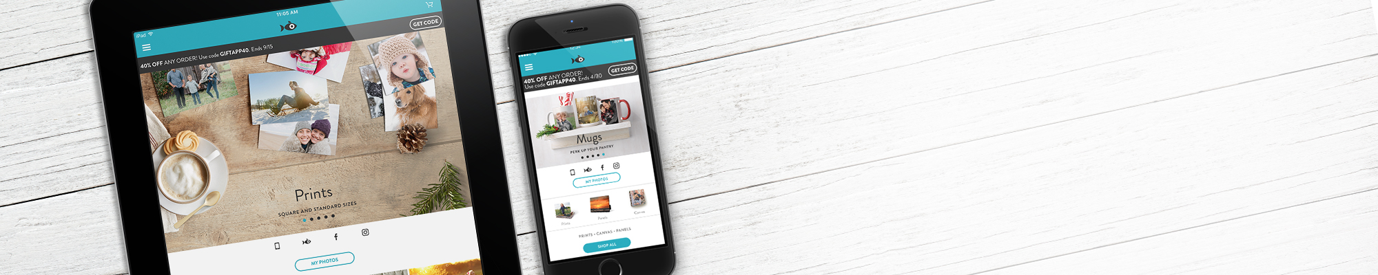Snapfish App : Order prints, and create cards and gifts wherever, whenever you're inspired.
