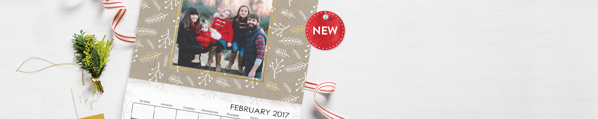 Give the look of luxe : Our new 9x12 Premium Stationery Wall Calendar is the gift that everyone will love all year long.