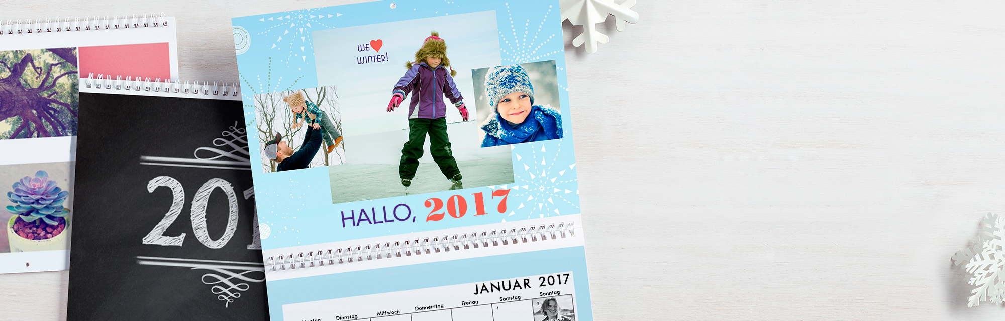 Fotokalender  :  Individuelle Fotokalender, die einen Monat für Monat mit den schönsten Fotos und Erinnerungen durchs Jahr begleiten!