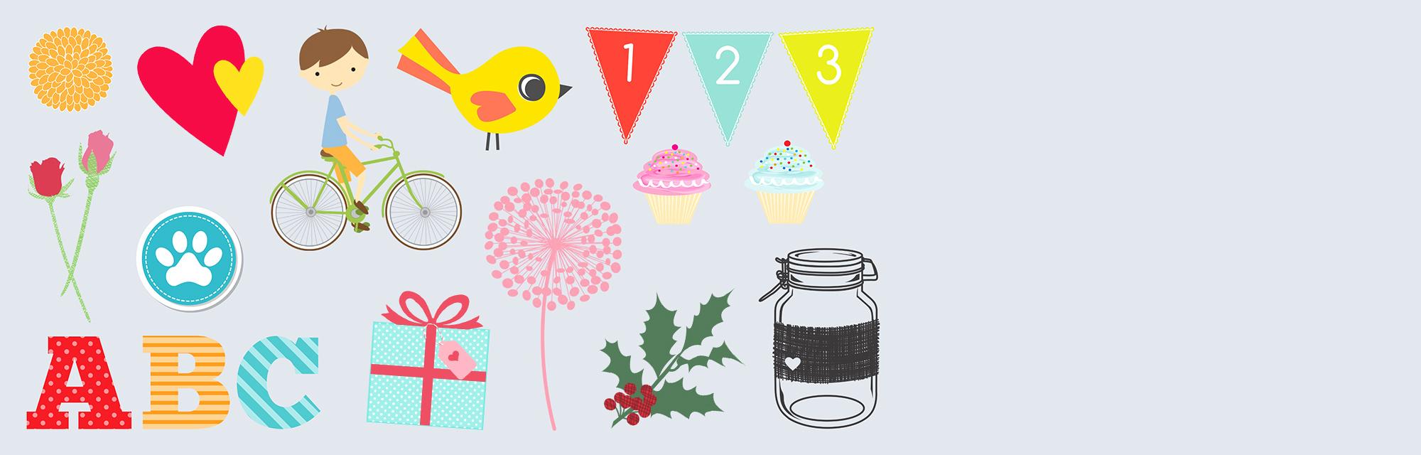Utilizza gli elementi decorativi : Aggiungi un tocco raffinato, originale o spiritoso sulle pagine del tuo calendario! Ce ne sono più di 3000, scegli i tuoi preferiti!