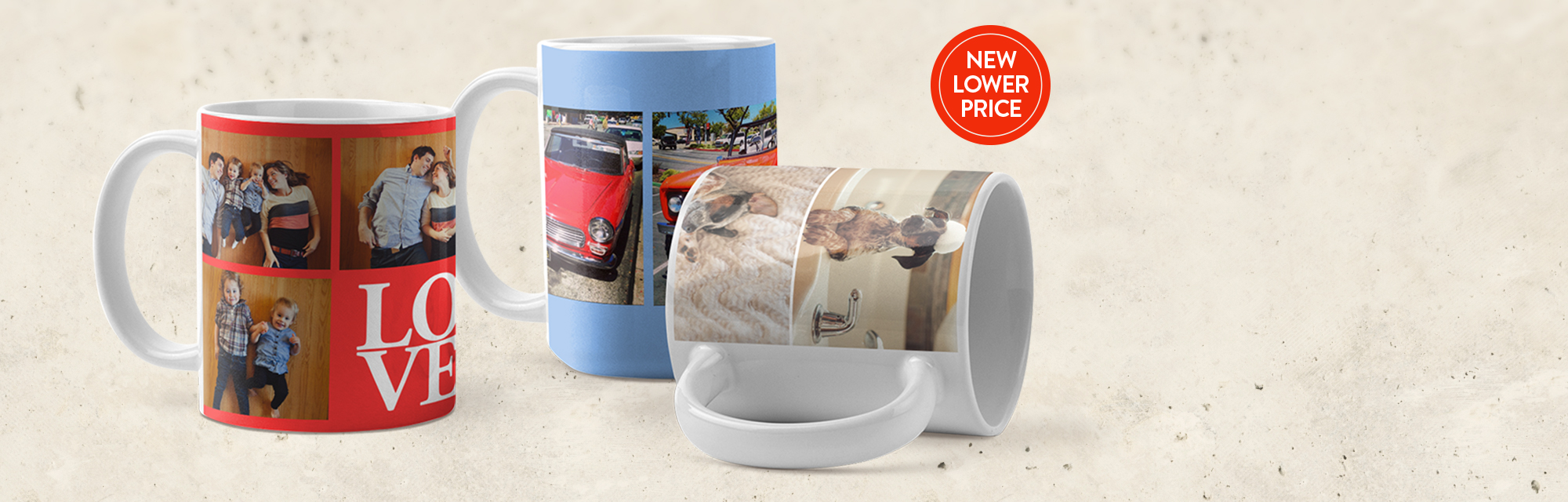 Put your favorite mugs on a mug : Keep your drinks warm with an assortment of photos starring kids, peds, and more.