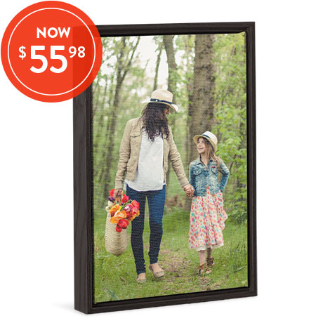 30x45cm Framed Canvas Print