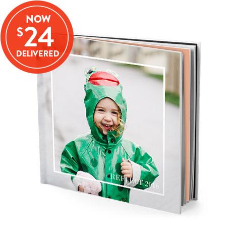 20x20cm Hardcover book - $24 delivered!