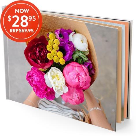 28x35cm Hardcover Photo Book