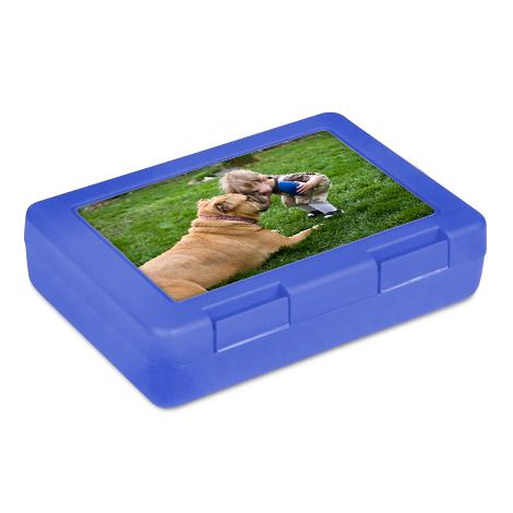 Blaue Lunchbox