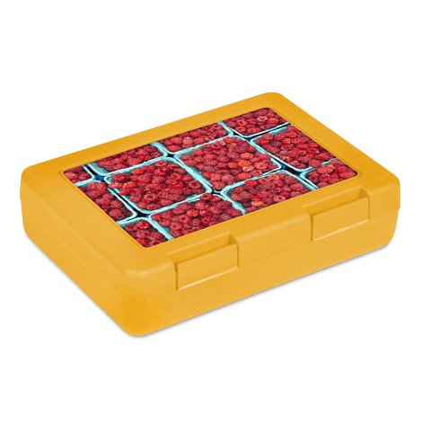 Gelbe Lunchbox