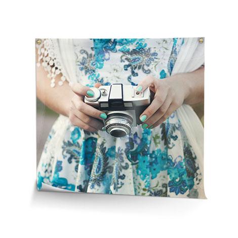 Quadratische Fotoposter