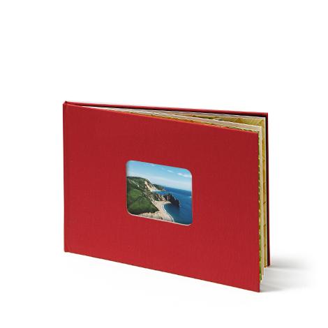 """11x8"""" Landscape Linen Photo Book"""