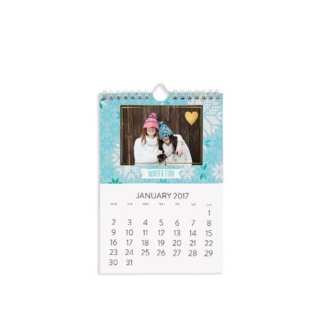 A5 Classic Wall Calendar