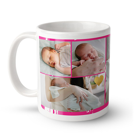 11oz Personalised Photo Mugs