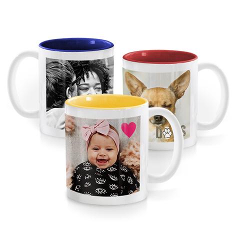 Colourful Mugs