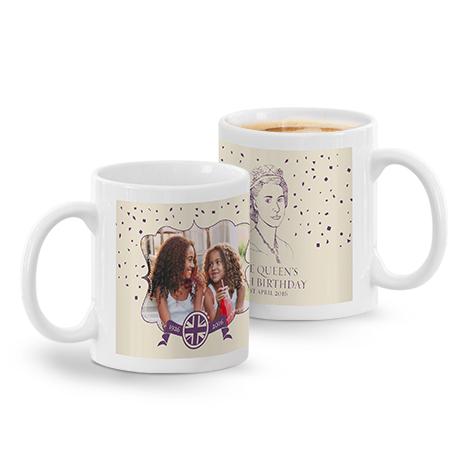 Queen's 90th Birthday Commemorative Mug