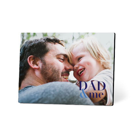 Table-Top Photo Panel