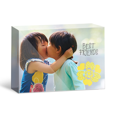 A6 Table-top Acrylic Photo Block