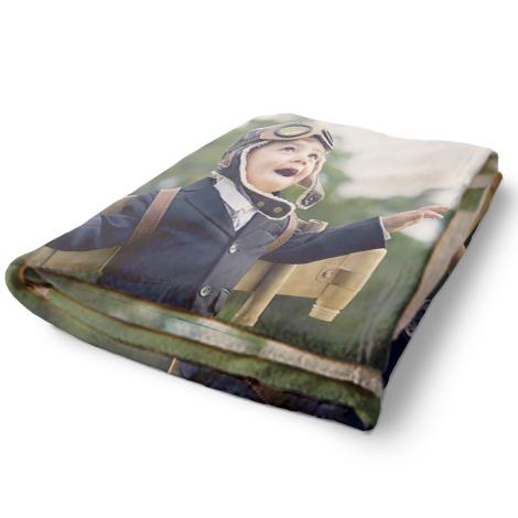 Plush Fleece Photo Blankets